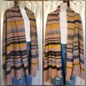 Beautiful striped wrap/scarf